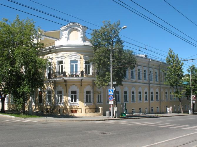 Дом Смышляева, Зеленая Линия Перми, Пермь, Пермский край