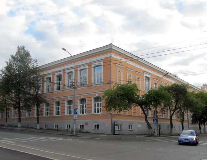 Мужская гимназия, Зеленая Линия Перми, Пермь, Пермский край