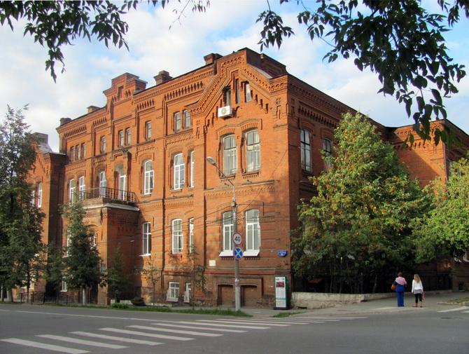 Мариинская женская гимназия, Зеленая Линия Перми, Пермь, Пермский край
