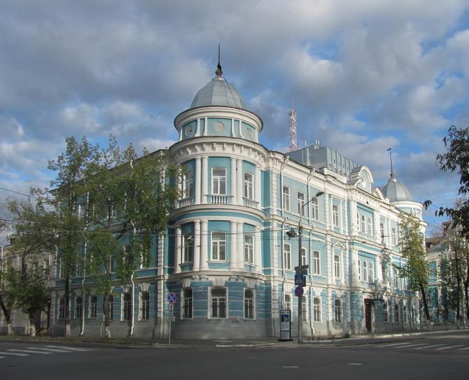 Здание крестьянского поземельного банка – Здание ФСБ, Зеленая Линия Перми, Пермь, Пермский край