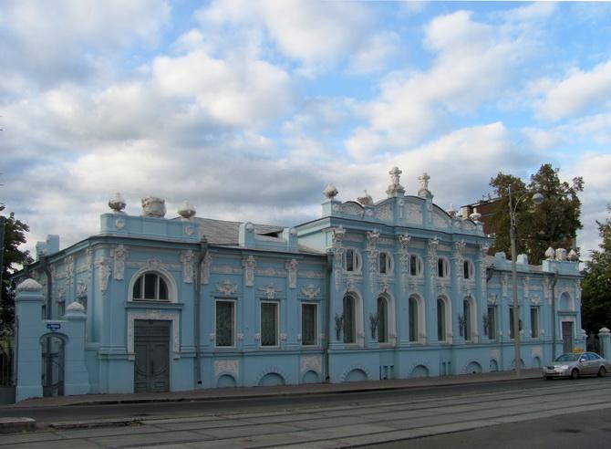 Дом купца Грибушина, Зеленая Линия Перми, Пермь, Пермский край