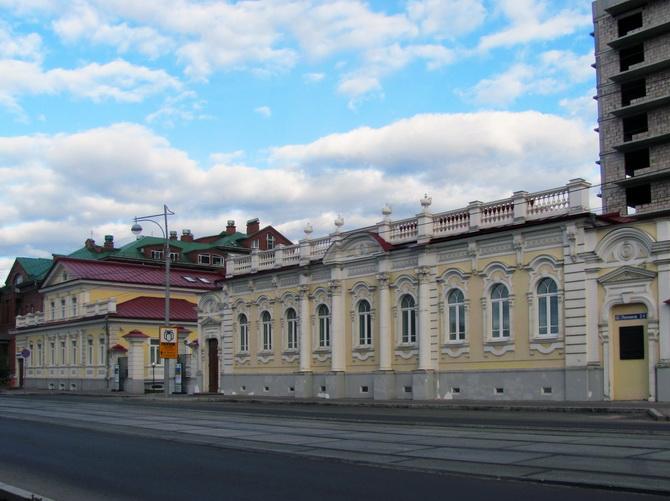 Дом купца Михайлова, Зеленая Линия Перми, Пермь, Пермский край