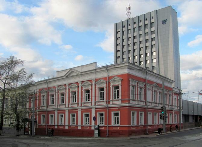 Здание государственного банка, Зеленая Линия Перми, Пермь, Пермский край