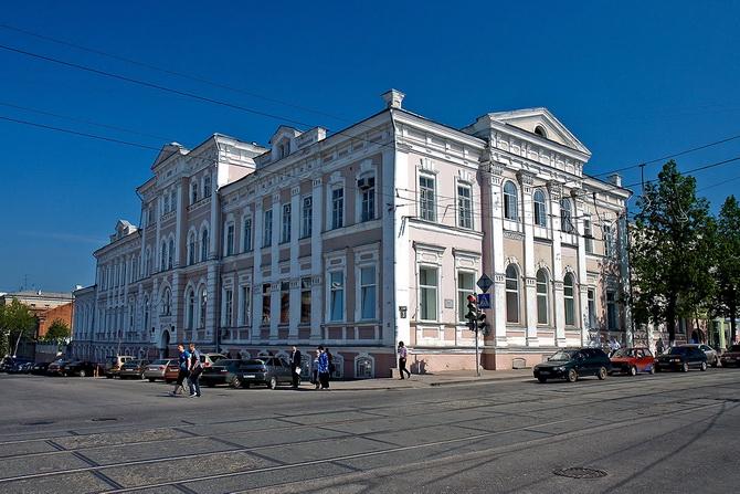 Духовное училище, Зеленая Линия Перми, Пермь, Пермский край