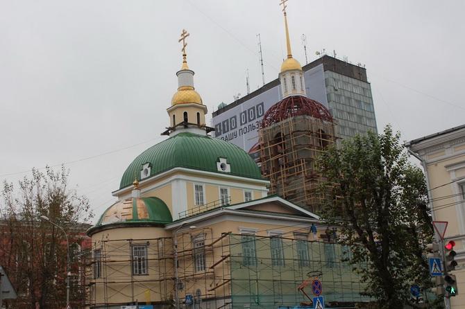 Церковь Рождества Богородицы, Зеленая Линия Перми, Пермь, Пермский край