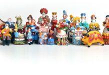 Глиняные игрушки Галины Медведевой