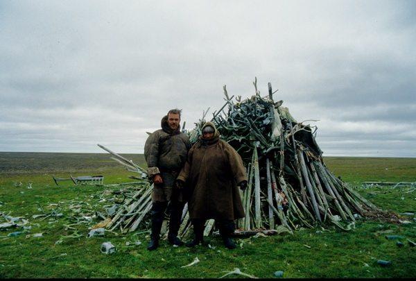На святилище Ямала, 1996 год.
