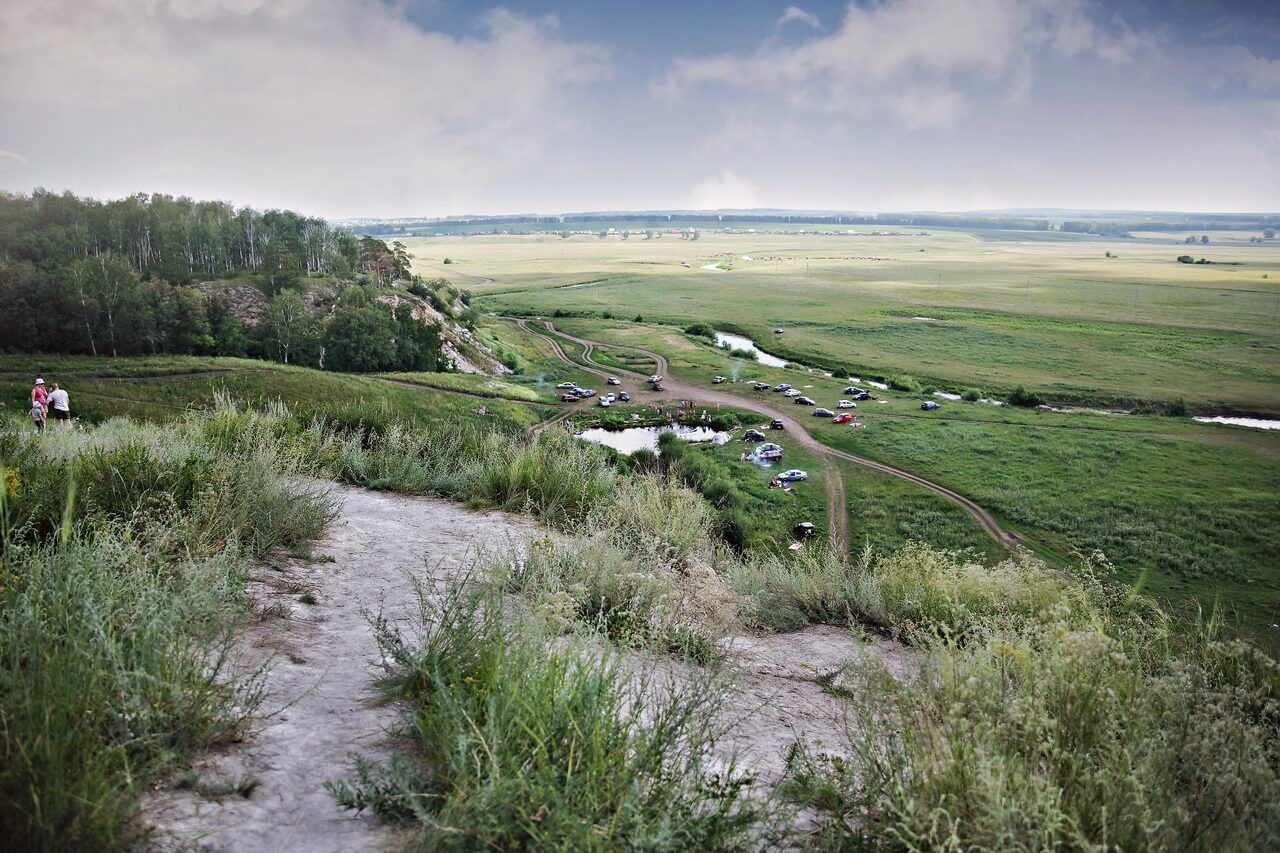 Голубое озеро Башкирии, озеро Зянгяр куль, Уфа, Башкортостан, Башкирия, Южный Урал