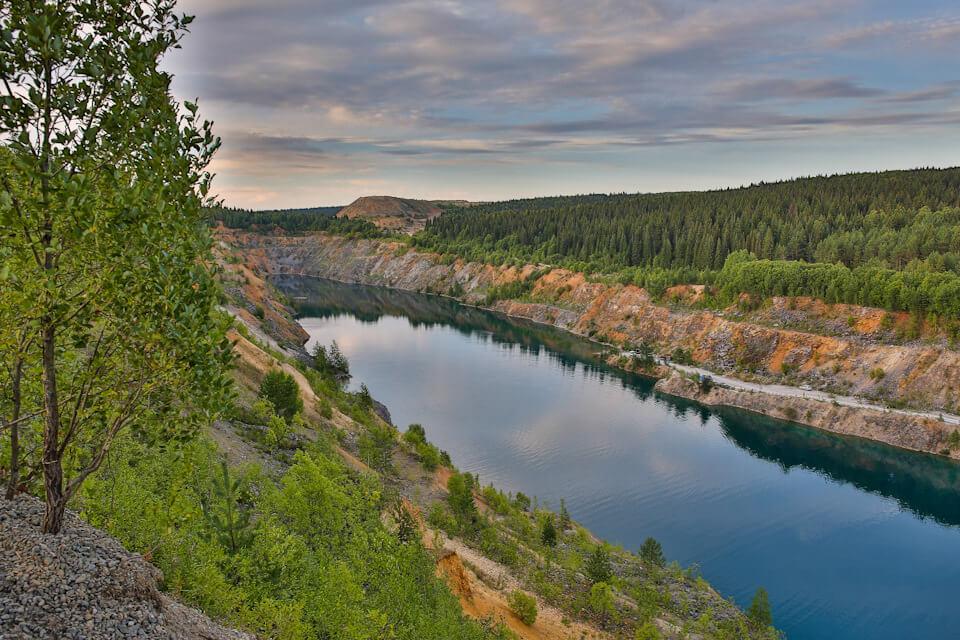 Голубые озера Александровска, Пермский край