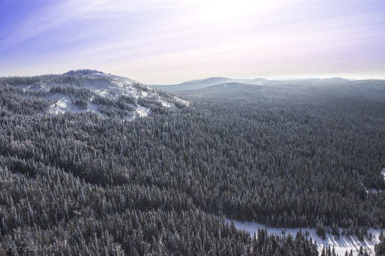 Гора Белая, Свердловская область