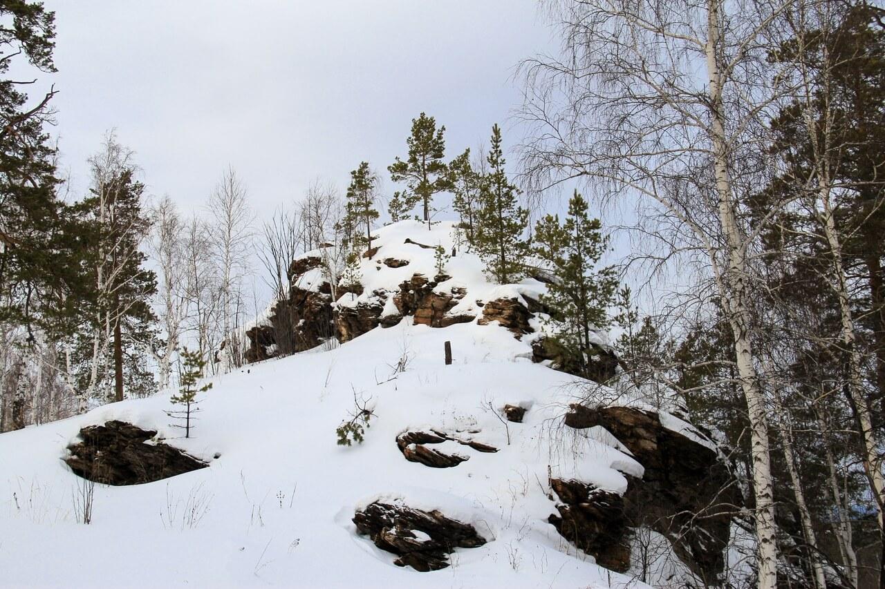 Гора Большой Камень, Верхний Уфалей, Челябинская область