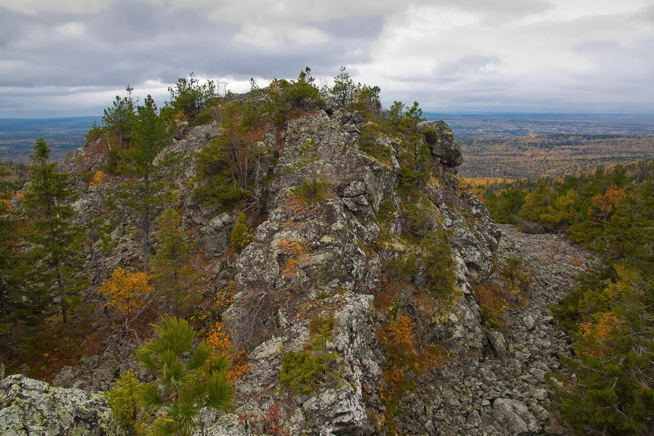 Гора Голая, Свердловская область