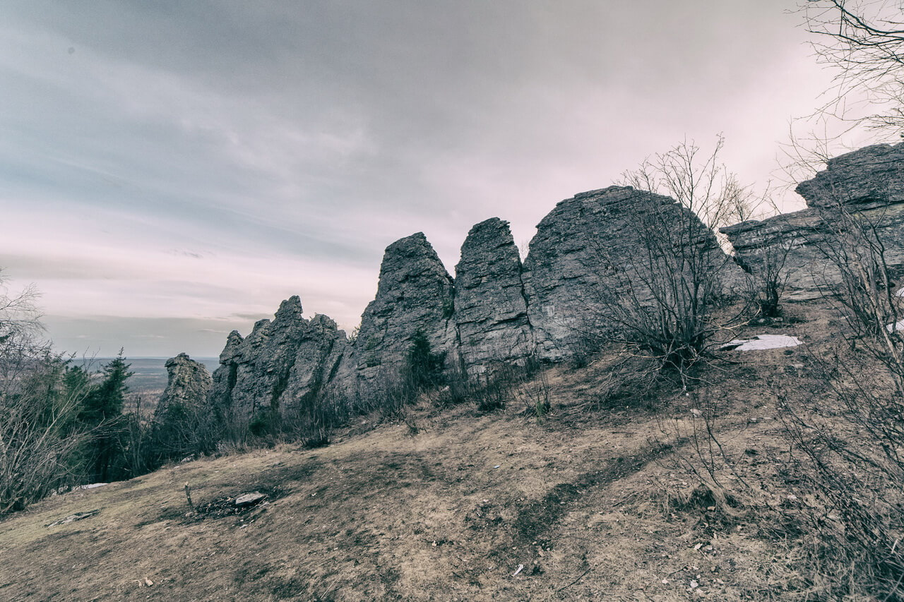 Гора Колпаки, Пермский край