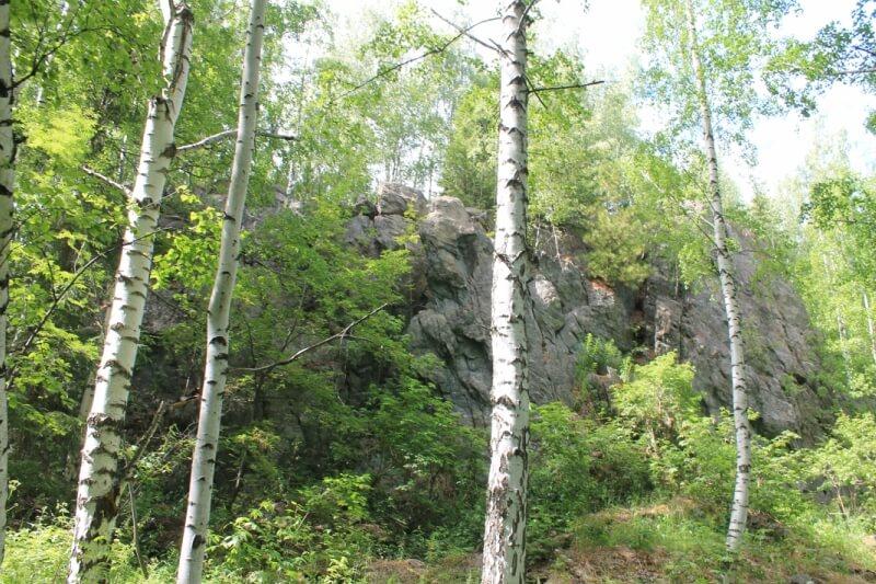 Гора Лубная, Свердловская область
