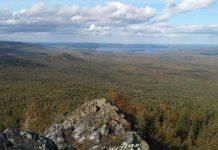 Гора Острая, Свердловская область