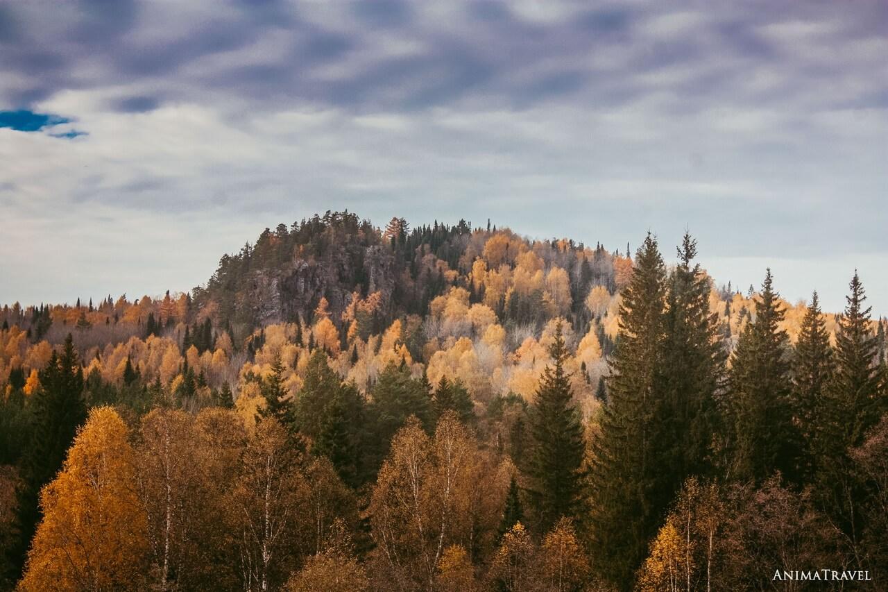 Сибирка, гора Уван, Челябинская область