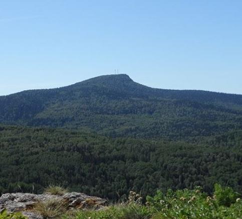 Гора Полюд рядом с Красновишерском