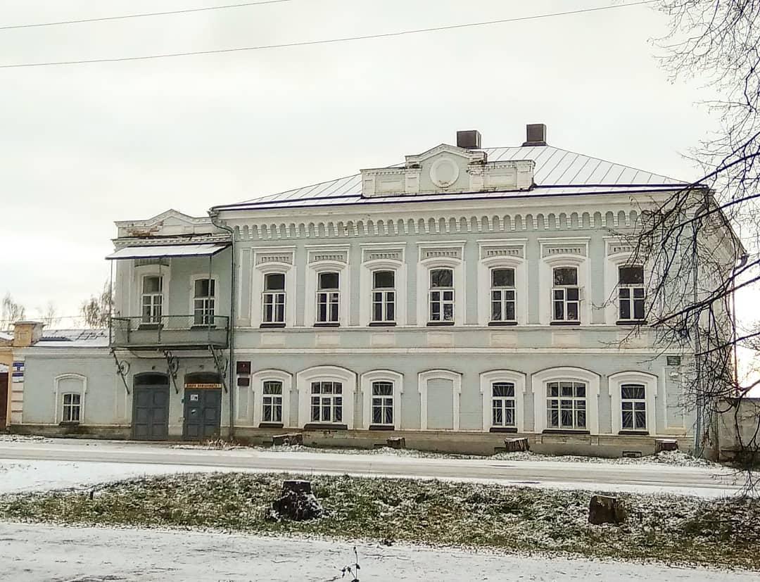 Город Оса, Особняк купца Рыжикова