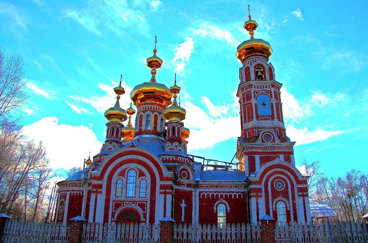 Город Оса, Храм Казанской иконы Божией Матери