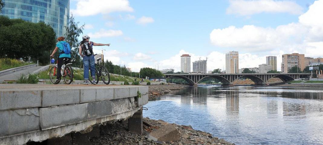 Городской пруд Екатеринбурга