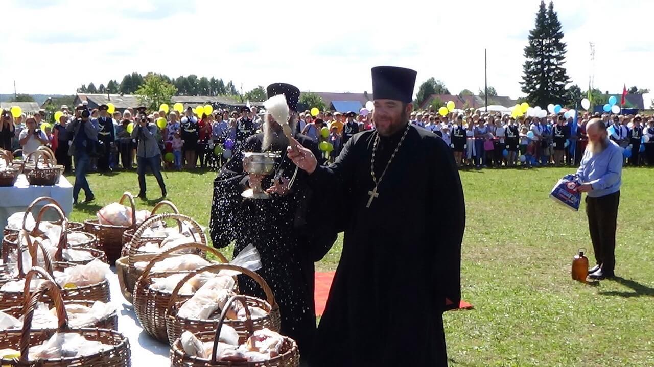 Праздник «Хлебный Спас» в поселке Октябрьский
