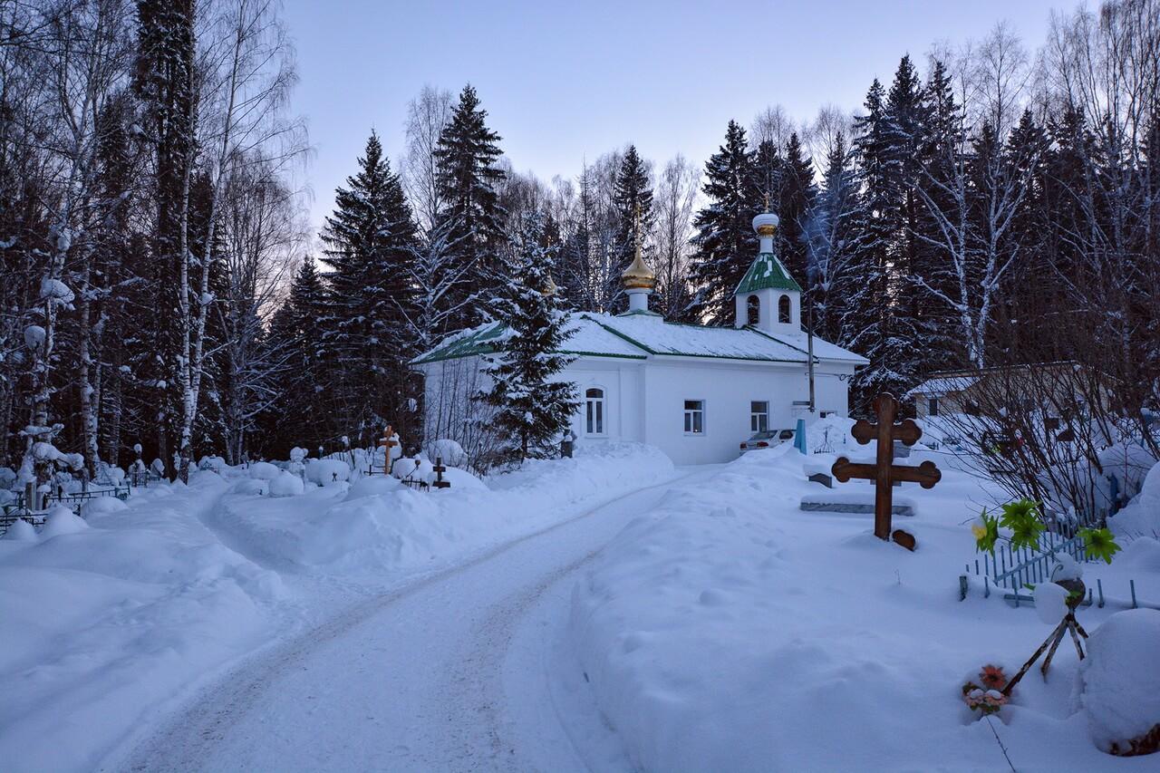 Кладбищенская церковь, Нижние Серги
