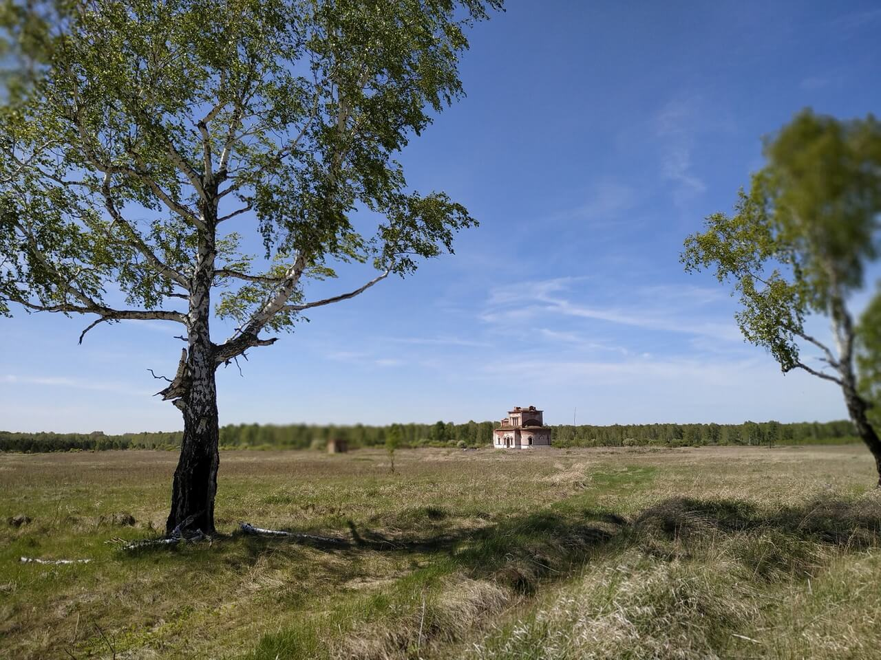 Симеоновский (Ново-Тихвинский) монастырь в урочище Свобода