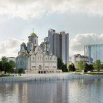 В Екатеринбурге одобрили концепцию строительства Храма Святой Екатерины у Драмтеатра