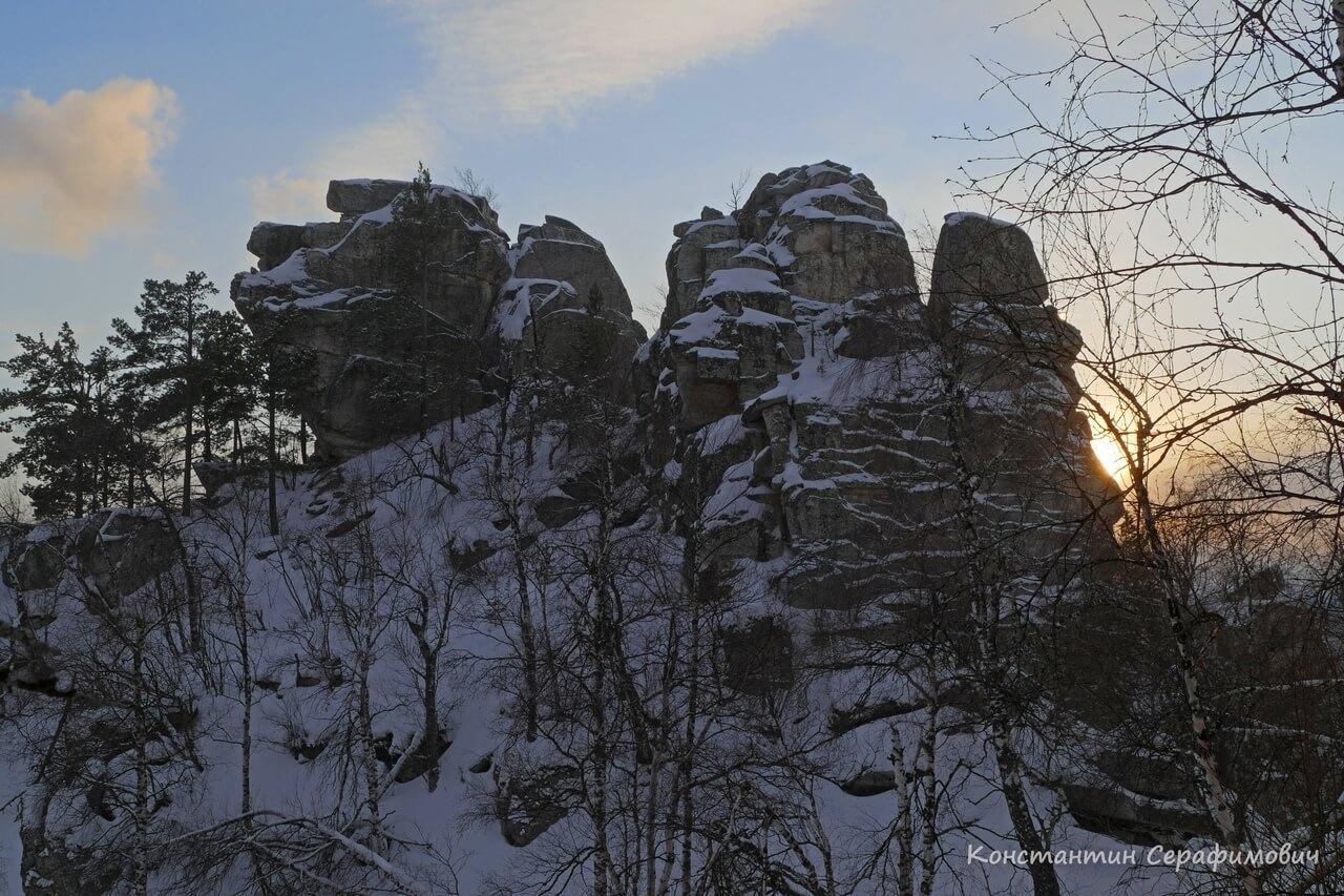 Хребет Алабия, Башкортостан