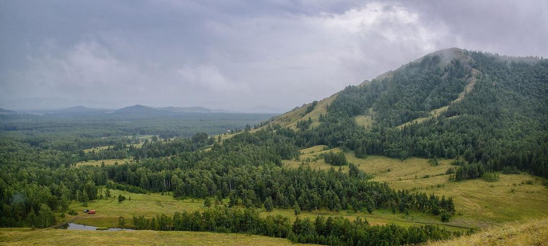 Хребет Нурали, Башкортостан, фото