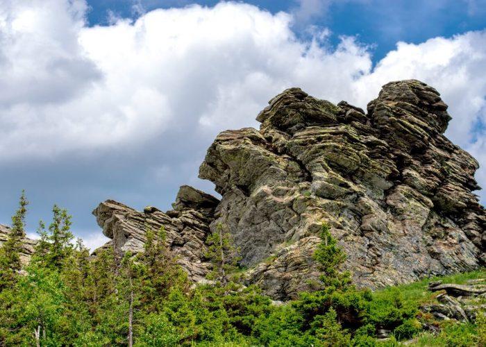 Хребет Уреньга, Первая сопка, Вторая сопка, Челябинская область