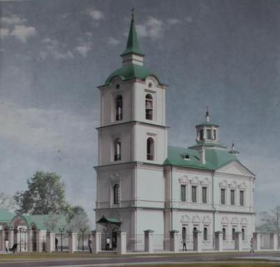 Христорождественская церковь в селе Дерябино