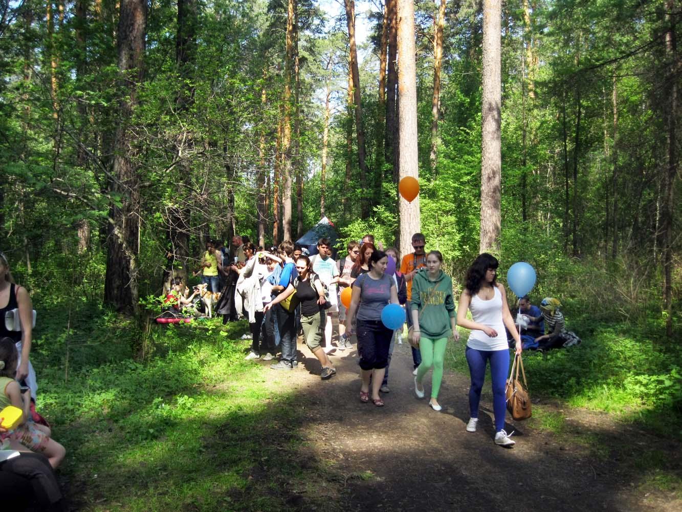 «Майская прогулка — 2018» в Екатеринбурге