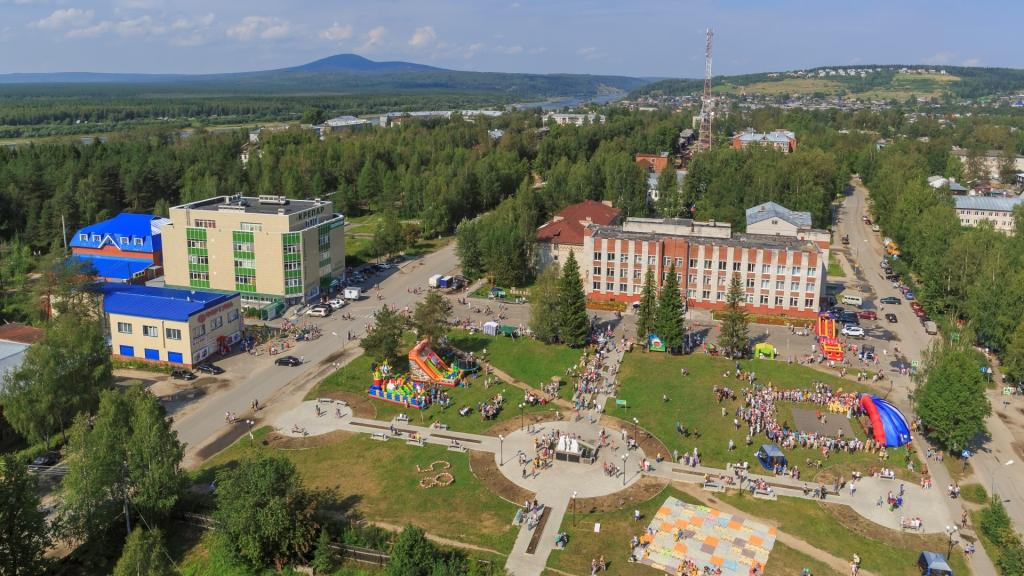Фестиваль «Праздник черники и черничного пирога» в Красновишерске