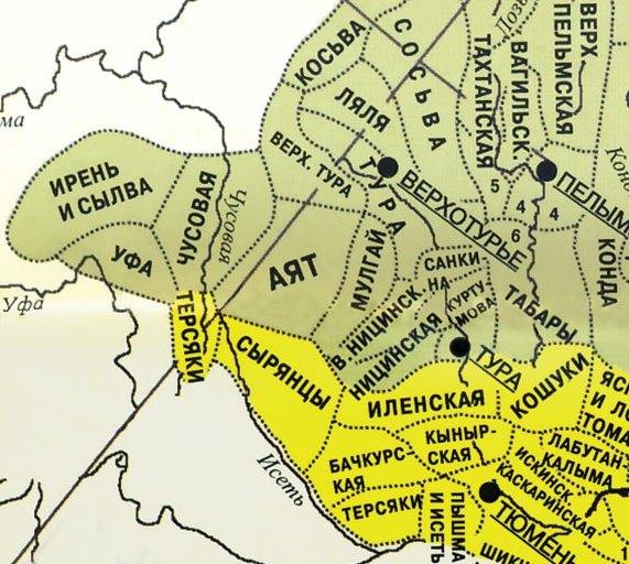 инородческие волости
