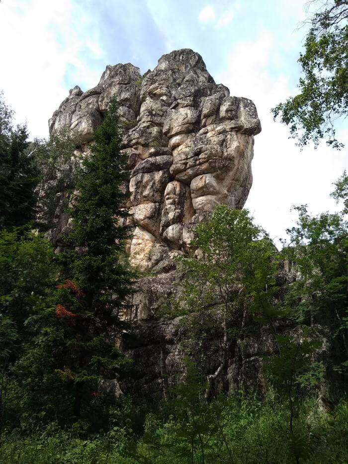 Инзерские зубчатки, Башкортостан