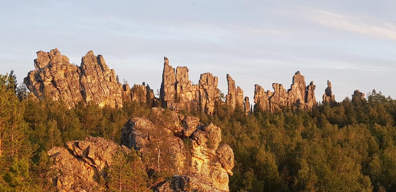 В горы Башкирии, к Инзерским зубчаткам!