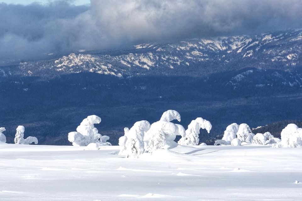 На Иремель на снегоходе со стороны Башкирии