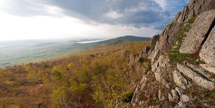 Хребет Ирендык и водопады Гадельша