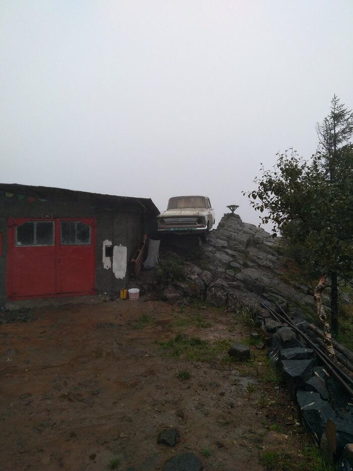 Гора Качканар, монастырь «Шад Тчуп Линг»