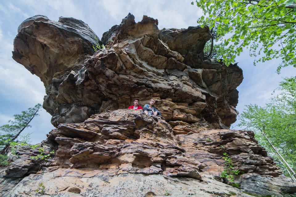 Каменный город, Чертово городище, Пермский край
