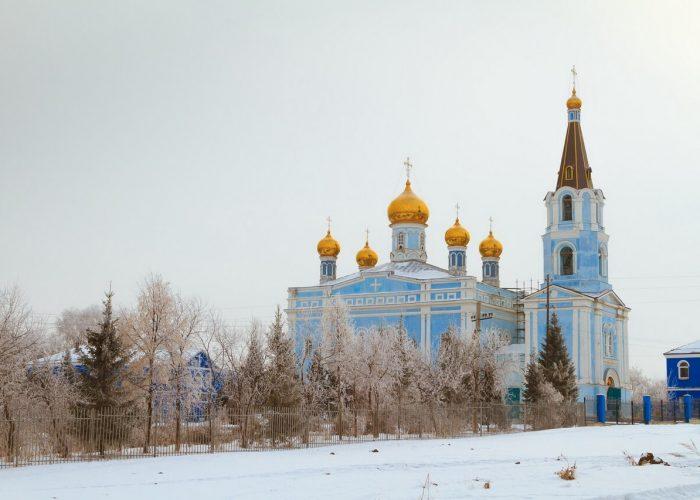 Каменск-Уральский, Покровская церковь