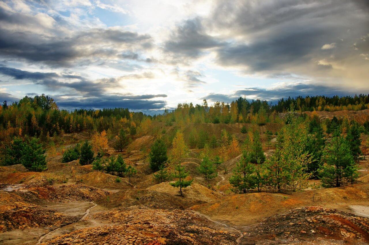 Каменский карьер, карьер Белая глина, Краснотурьинск, Свердловская область
