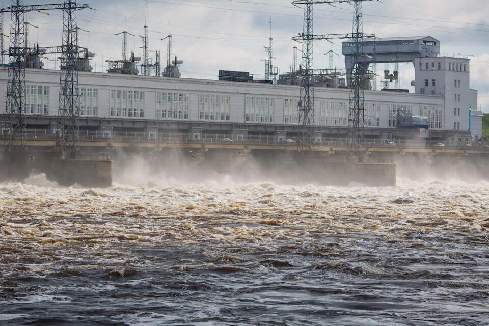 Камская ГЭС, Пермский край, Лето на Урале
