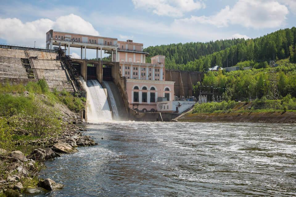 Широковская ГЭС, Пермский край, Лето на Урале