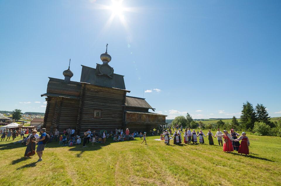 Этнофестиваль КAMWA, Хохловка, Пермский край