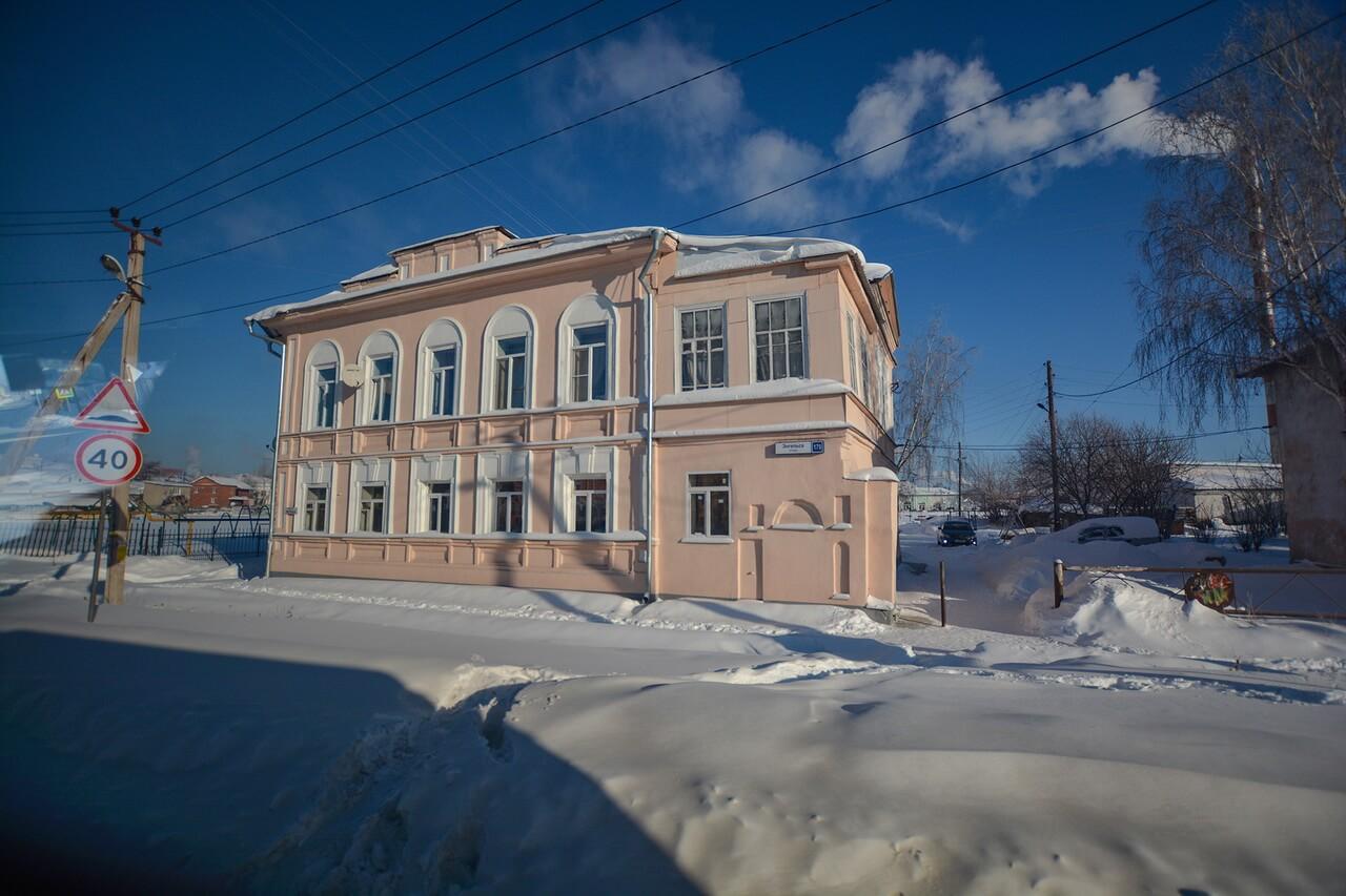 Городской особняк, Камышлов, Свердловская область