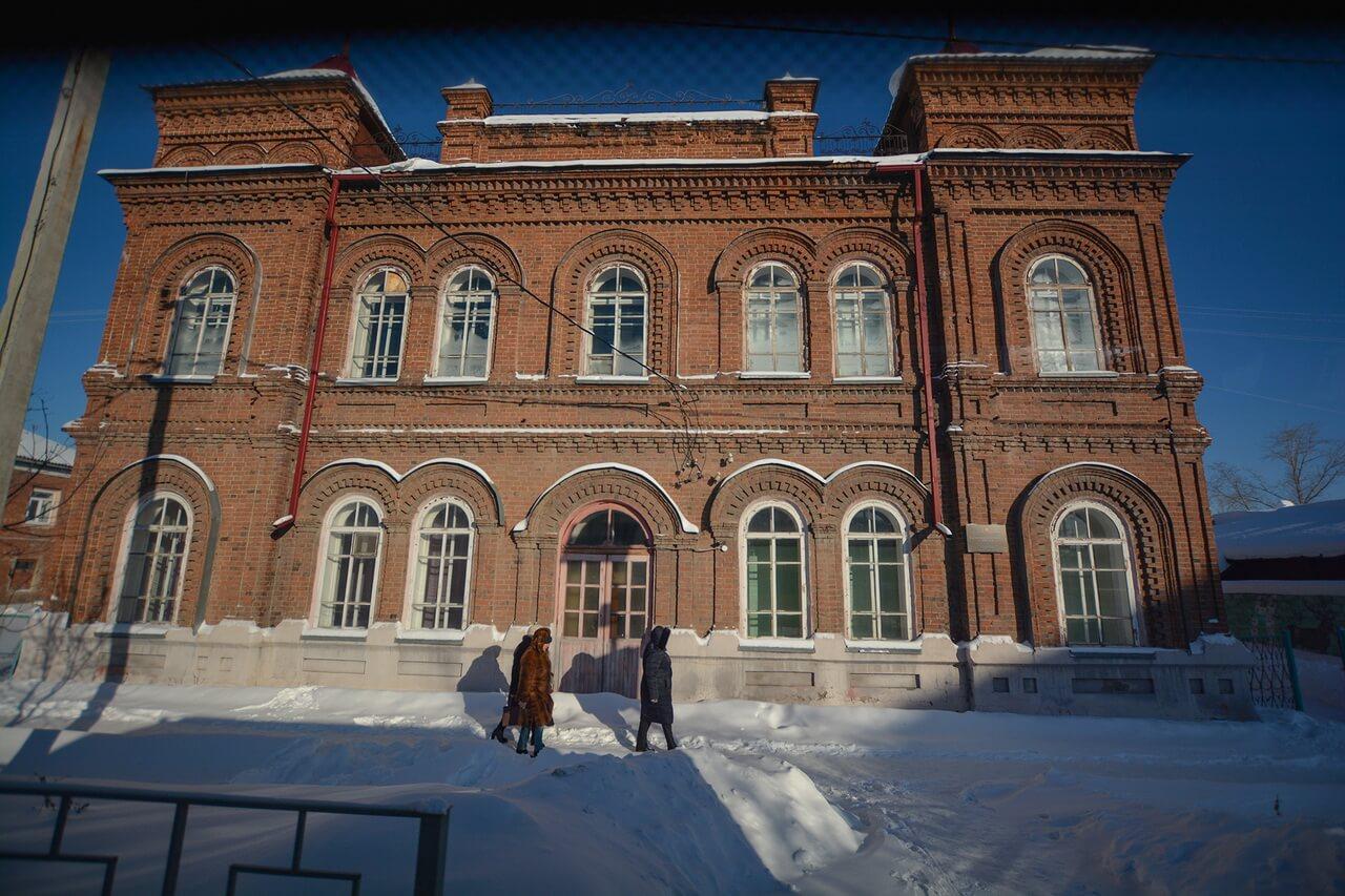 Здание мужской гимназии, Камышлов, Свердловская область