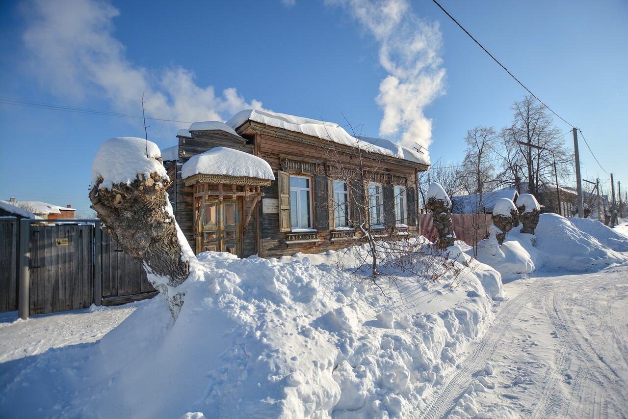 Дом, в котором жил Павел Бажов, Камышлов, Свердловская область