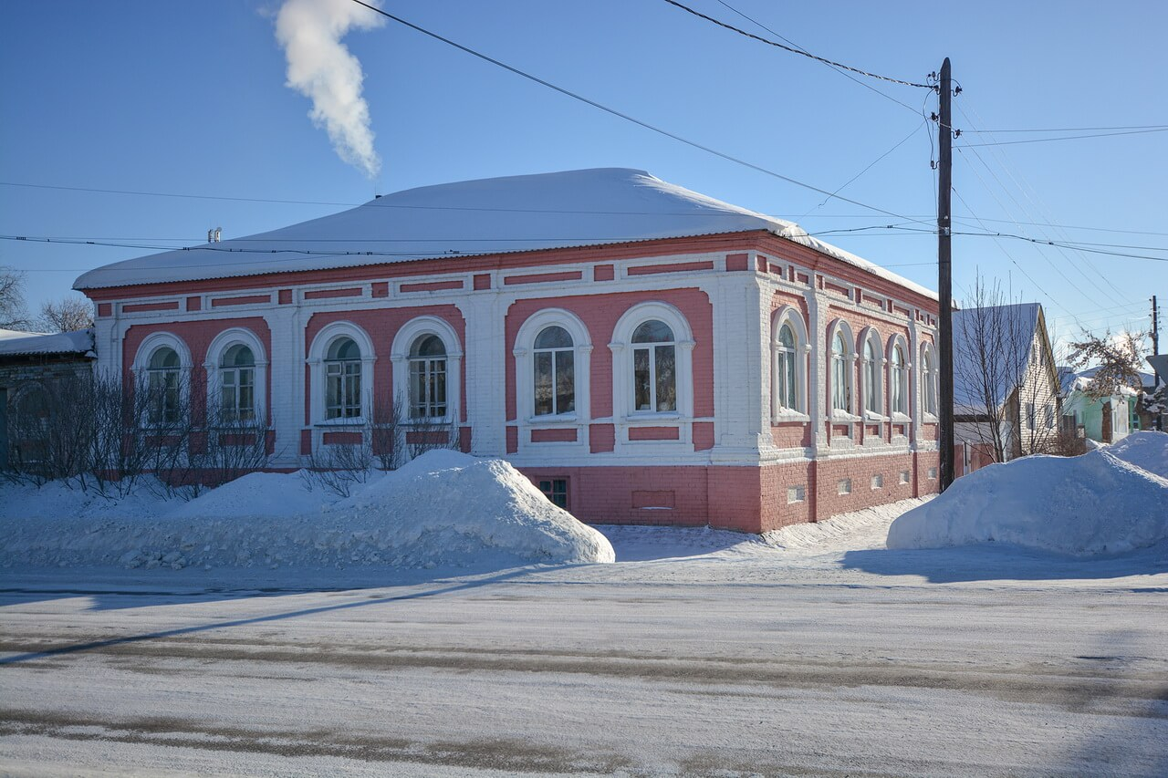 Городской особняк купца Серебрякова, Камышлов, Свердловская область